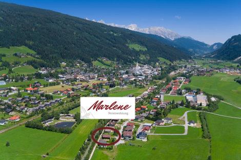 Ferienwohnung Marlene in Radstadt, Salzburger Land - Lage