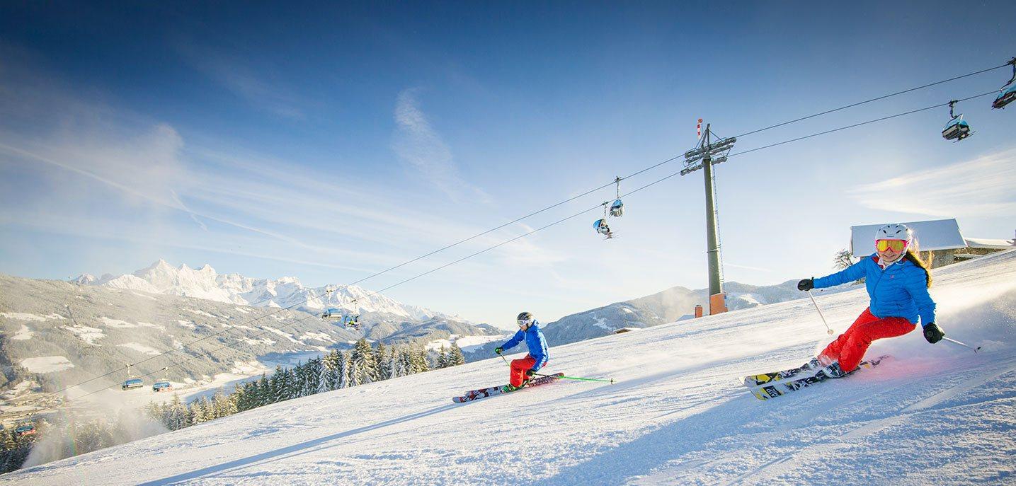 Slideshow Skifahren - Skiurlaub in Radstadt, Ski amadé