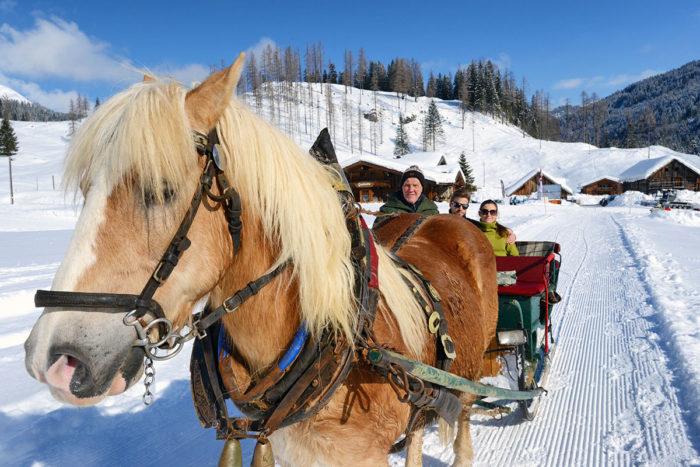 Skiurlaub & Winterurlaub in Radstadt, Ski amadé –Pferdeschlittenfahrten