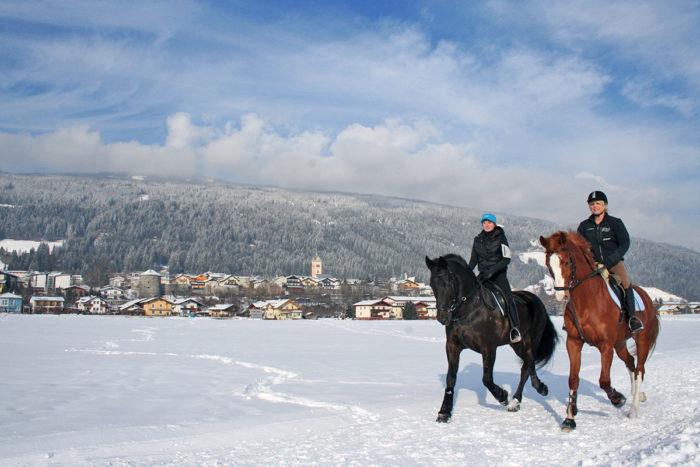 Skiurlaub & Winterurlaub in Radstadt, Ski amadé –Winterreiten