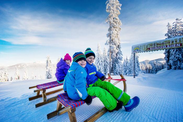 Skiurlaub & Winterurlaub in Radstadt, Ski amadé –Rodeln