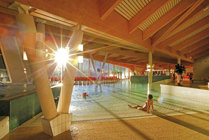 Therme Amadé in Altenmarkt, Pongau - Salzburger Land - Wellenbecken